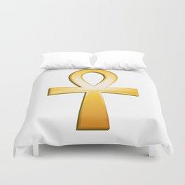Ankh - egyptian symbol Duvet Cover