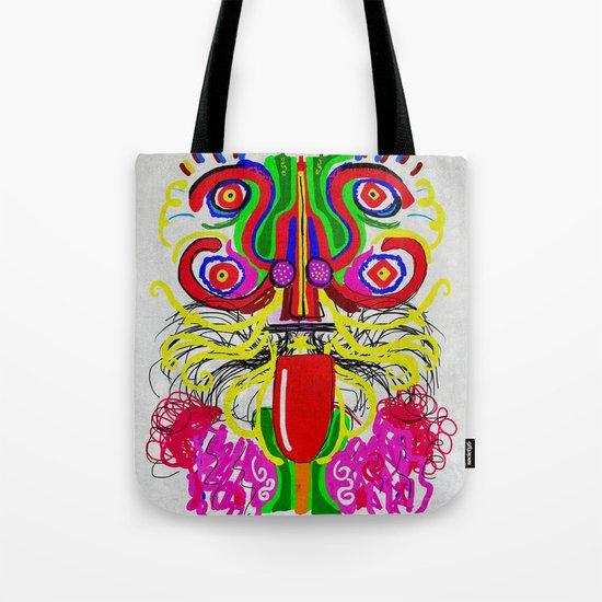 Maya lion Tote Bag