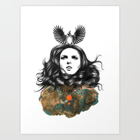 US AND THEM / THE OATH Art Print