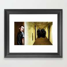 They're Coming For You Framed Art Print