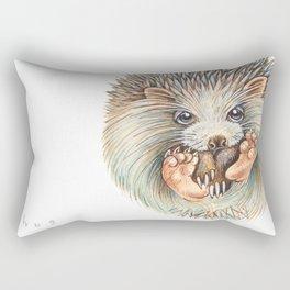 Hedgehog ball Rectangular Pillow