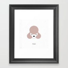 Pedigree: Poodle Framed Art Print