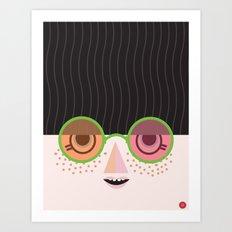 Mello Art Print