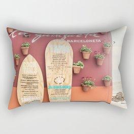 Cocktails and Tapas Rectangular Pillow