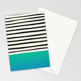 Mermaid & Stripes Stationery Cards