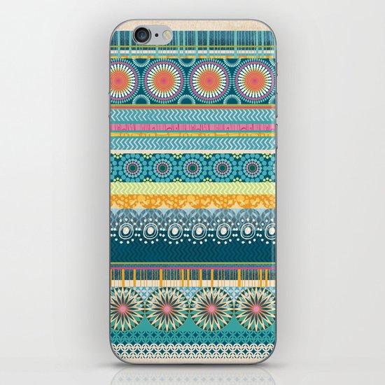 Blue Streaks iPhone & iPod Skin