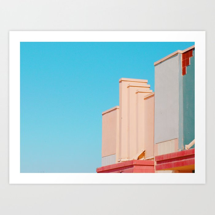 Lake Dolores Art Print
