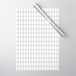 City Grid Wrapping Paper
