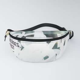 Words ~ Lyrics ~ We Can Be Heroes Fanny Pack