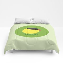 American goldfinch Comforters