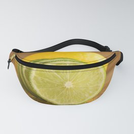 Lime and lemon Fanny Pack