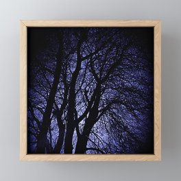 Barren Tree Branches Framed Mini Art Print