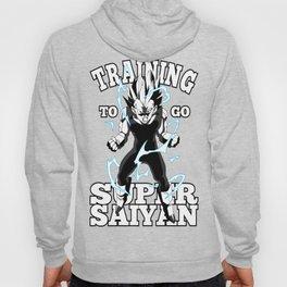 Training to go super saiyan Hoody