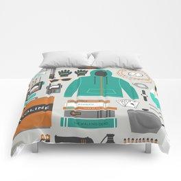 Zombie Survival Kit Comforters