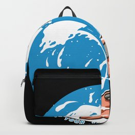 Surfing Donkey Backpack