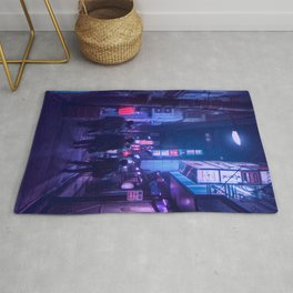 Tokyo Nights / One Minute To Midnight / Liam Wong Rug