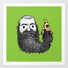 Beard Slice Art Print