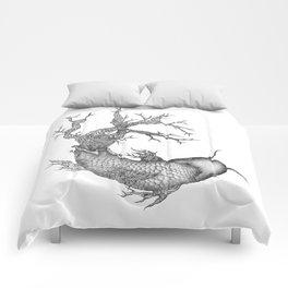 Koi Tree Comforters