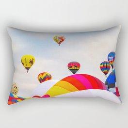 Hot Air Balloons Rectangular Pillow