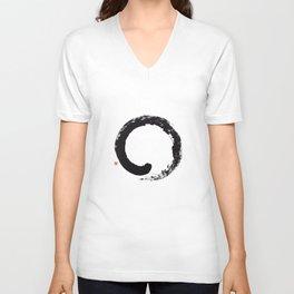 Enso / Japanese Zen Circle Unisex V-Neck