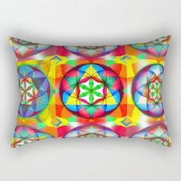 Three Six Nine - The Sacred Geometry Collection Rectangular Pillow