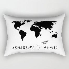 Adventure Map II Rectangular Pillow