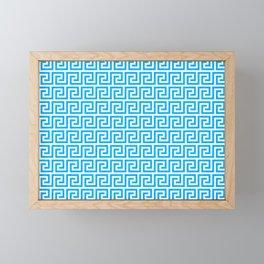 Greek Key 2 Framed Mini Art Print