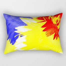 Flora Abstracta Rectangular Pillow