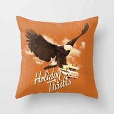 Holiday Thrills Throw Pillow