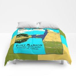 Historic Fort Marion - Castillo de San Marcos - St. Augustine Florida Comforters