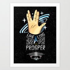 Trekkie Art Print