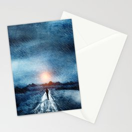 it's raining again Stationery Cards