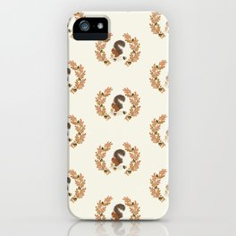 Pumpkin Spice Squirrel iPhone Case