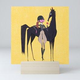 Equestrian Mini Art Print