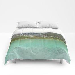 Pristine Alaska Glacier Bay National Park Comforters