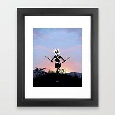 Deapool Kid Framed Art Print