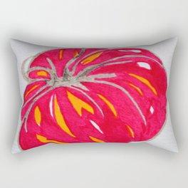 juicy red tomato Rectangular Pillow