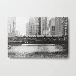 Friday in Chicago Metal Print