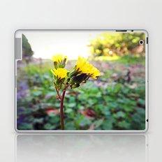 Yellow flowers! Laptop & iPad Skin