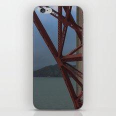 Golden Gate Geometry 1 iPhone & iPod Skin