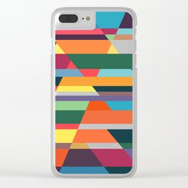 The hills run to infinity Clear iPhone Case