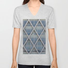 Facades of the World 02 Unisex V-Neck