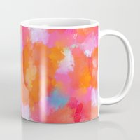 blush Mugs featuring blush by Lasse Egholm