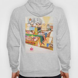 A Cat in the Kitchen Hoody