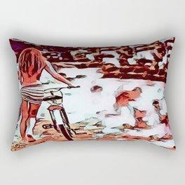 End Of Summer Rectangular Pillow