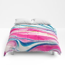Handmade Watercolor Vivids  Comforters