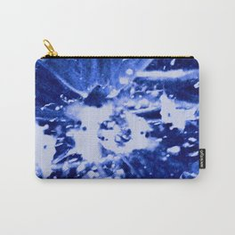 Broken Blue Carry-All Pouch