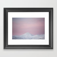 Candy mountain Framed Art Print
