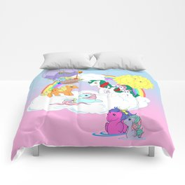 g1 my little pony collage Comforters