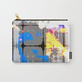 glitch abstract Carry-All Pouch